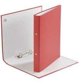 DONAU Ringbuch, PP, A4, 2-Ring-Mechanik, Ring-Ø: 20 mm, rot