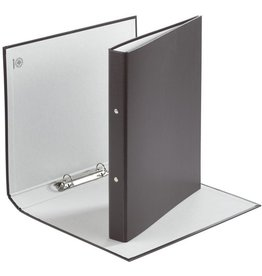 DONAU Ringbuch, PP, A4, 2-Ring-Mechanik, Ring-Ø: 20 mm, schwarz