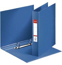 Esselte Ringbuch, PP-kaschiert, A5, 2-R-Reißmech., Ring-Ø: 25 mm, blau
