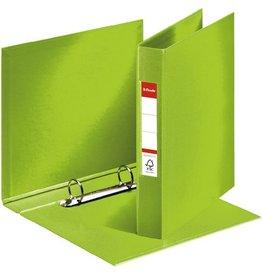 Esselte Ringbuch, PP-kaschiert, A5, 2-R-Reißmech., Ring-Ø: 25 mm, grün