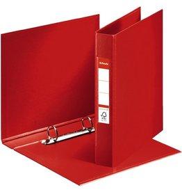 Esselte Ringbuch, PP-kaschiert, A5, 2-R-Reißmech., Ring-Ø: 25 mm, rot