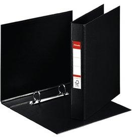 Esselte Ringbuch, PP-kaschiert, A5, 2-R-Reißmech., Ring-Ø: 25 mm, schwarz