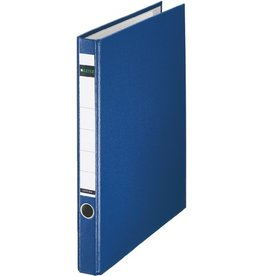 LEITZ Ringordner, PP-kasch., SK-Rü.sch., m.Griffloch, A4, 35mm, blau