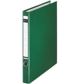 LEITZ Ringordner, PP-kasch., SK-Rü.sch., m.Griffloch, A4, 35mm, grün