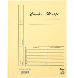 bene Schnellhefter Comba-Mappe, Karton (RC), A4, gelb