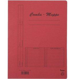 bene Schnellhefter Comba-Mappe, Karton (RC), A4, rot