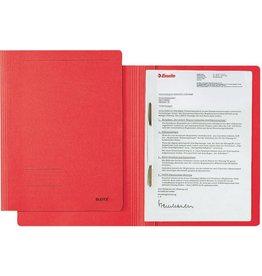 LEITZ Schnellhefter Fresh, Karton (RC), 250 g/m², A4, rot