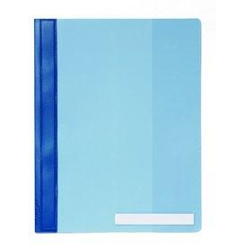 DURABLE Schnellhefter, Hartfolie, transparenter Vorderdeckel, A4, ü, blau