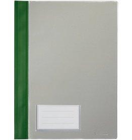 bene Schnellhefter, PVC-Weichfolie, transparenter Vorderdeckel, A4, grün