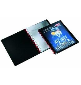 DURABLE Sichtbuch DURALOOK® Easy Plus, PP, 20 Hüllen, A4, sw