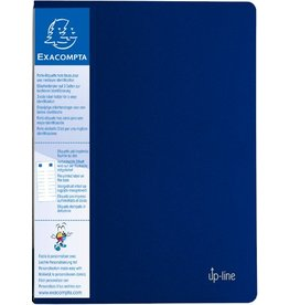 EXACOMPTA Sichtbuch up-line, PP, 20 Hüllen, A4, 24 x 32 cm, blau