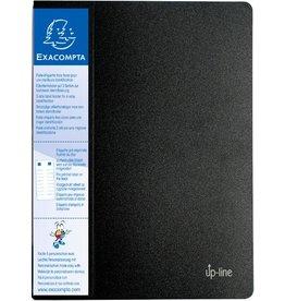 EXACOMPTA Sichtbuch up-line, PP, 20 Hüllen, A4, 24 x 32 cm, schwarz