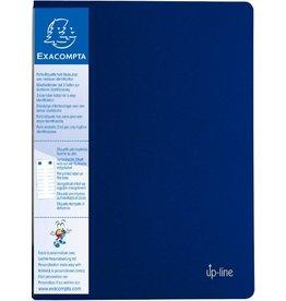 EXACOMPTA Sichtbuch up-line, PP, 40 Hüllen, A4, 24 x 32 cm, blau