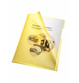 bene Sichthülle, A4, 0,15 mm, gelb