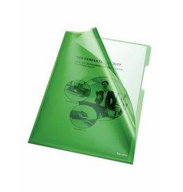 bene Sichthülle, A4, 0,15 mm, grün