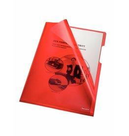 bene Sichthülle, A4, 0,15 mm, rot