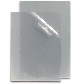 STAPLES Sichthülle, PP, A4, 0,08 mm, farblos, genarbt