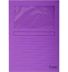 EXACOMPTA Sichtmappe Forever®, Karton (RC), 120 g/m², A4, 22 x 31 cm, fuchsia