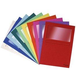 EXACOMPTA Sichtmappe Forever®, Karton (RC), 120 g/m², A4, 22 x 31 cm, sortiert