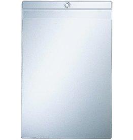 LEITZ Sichttasche, mit Öse, PVC-Weichfolie, oben offen, A5, 0,2 mm, farblos