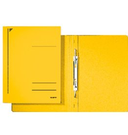 LEITZ Spiralhefter, 300g/m², 1/1 Vorderd., kfm. Heft./Amtsheft., A4, gelb