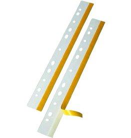 VELOFLEX Heftstreifen Heftfix®, Fol., sk, 25x292mm, tr