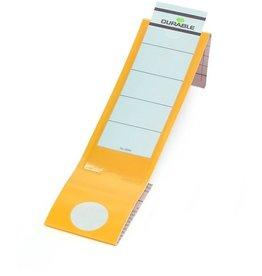 DURABLE Rückenschild ORDOFIX®, sk, Kst., breit/lang, 60x390mm, gelb