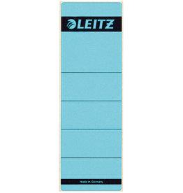 LEITZ Rückenschild, sk, Pap., breit/kurz, 61x192mm, blau
