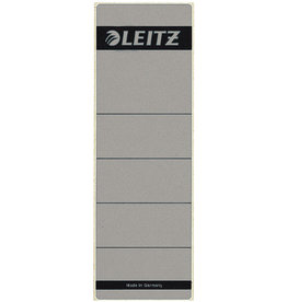 LEITZ Rückenschild, sk, Pap., breit/kurz, 61x192mm, grau