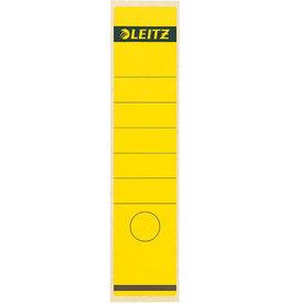 LEITZ Rückenschild, sk, Pap., breit/lang, 61x285mm, gelb