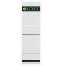 LEITZ Rückenschild, z.Einstecken, Kart., 160g/m², breit/kurz, 57x190mm, grau