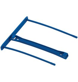 Bankers Box Abheftbügel ProClip, Kunststoff (RC), Füllh.: 100 mm, blau
