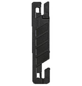 LEITZ Deckleiste Flexofil®, für Schlauchheftung, Kst., 102x22mm, sw [50st]