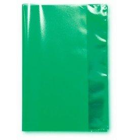 LANDRÉ Einbandhülle, für Hefte, nicht klebend, A4, grün, transparent