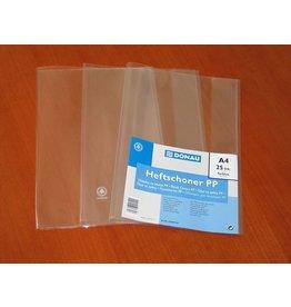 DONAU Einbandhülle, PP, A4, 0,15 mm, transparent