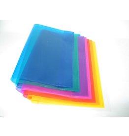 DONAU Einbandhülle, PP, Quart, 0,15 mm, blau