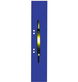 ELBA Heftstreifen, Manilakarton (RC), lang, geöst, 60x305mm, blau [50st]