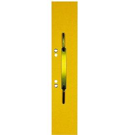ELBA Heftstreifen, Manilakarton (RC), lang, geöst, 60x305mm, gelb