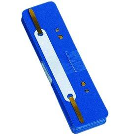 DONAU Heftstreifen, PP, 34 x 150 mm, blau