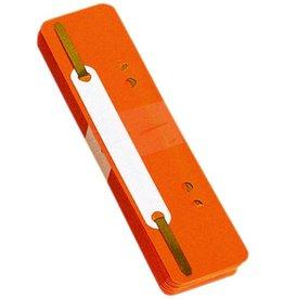 DONAU Heftstreifen, PP, 34 x 150 mm, orange