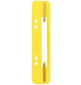 LEITZ Heftstreifen, PP, kurz, 35x158mm, gelb [25st]