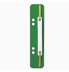 LEITZ Heftstreifen, PP, kurz, 35x158mm, grün [25st]