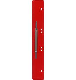 STAPLES Heftstreifen, PP, lang, 45 x 310 mm, rot