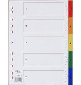 STAPLES Register, PP, 1-5, A4, 5Bl., sort.