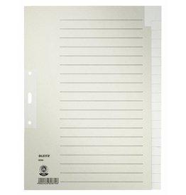 LEITZ Register, Tauenpapier (RC), blanko, A4, volle Höhe, 20 Blatt