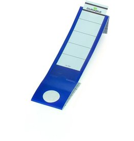 DURABLE Rückenschild ORDOFIX®, sk, Kst., schm./lang, 40x390mm, blau