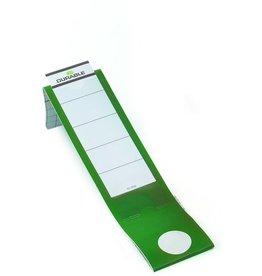 DURABLE Rückenschild ORDOFIX®, sk, Kst., schm./lang, 40x390mm, grün
