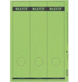 LEITZ Rückenschild, A4-Bg., sk, Pap., breit/lang, 61x285mm, grün