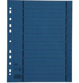 ELBA Trennblatt, Manila(RC), 250g/m², Euroloch., A4, blau