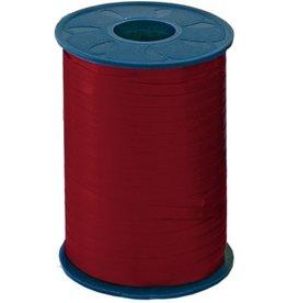 Pressel Geschenkband, PP, 5 mm x 500 m, rot